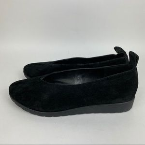 Eileen Fisher Shoes - EILEEN FISHER Humor Flat Suede